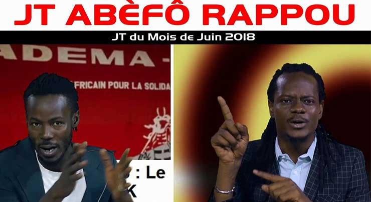 MASTER SOUMY & OUSBY LE PAROLIER - JT ABÈFÔ RAPPOU NO 7 - 2 JUIN (Vidéo 2018)