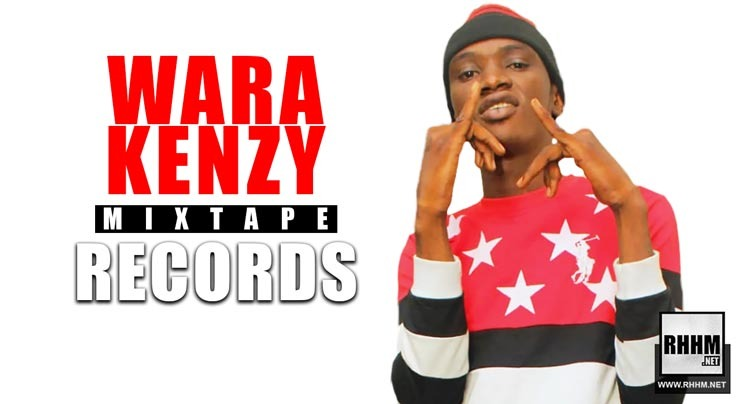 WARA KENZY - MIXTAPE RECORDS (Mixtape 2019) - Couverture