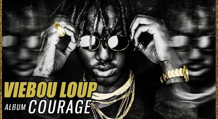 VIEBOU LOUP - COURAGE (Album 2019) - Couverture