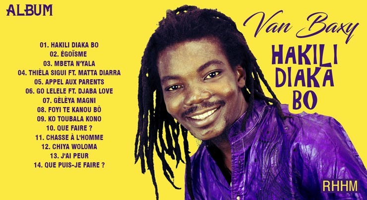 VAN BAXY - HAKILI DIAKA BO (Album 2019) - Couverture