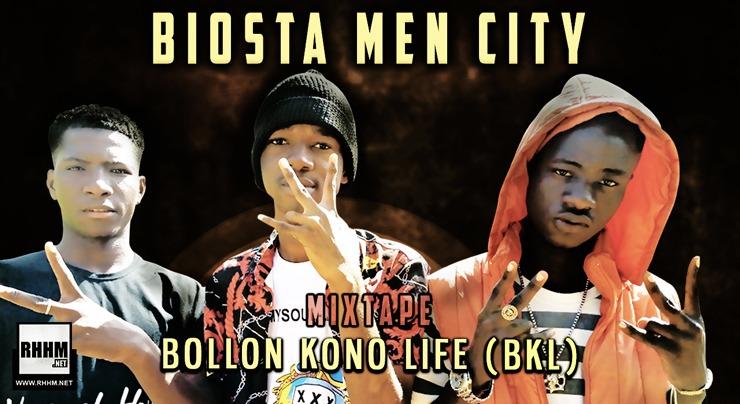 BIOSTA MEN CITY - BOLLON KONO LIFE (BKL) (Mixtape 2020) - Couverture