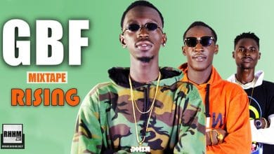 GBF - RISING (Mixtape 2021) - Couverture